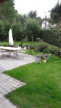 terrasse pavés platines