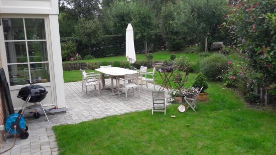 terrasse en pavés naturels
