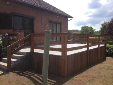restauration de terrasse