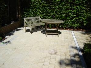 terrasse pavés marlux